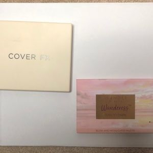 Cover Fx Perfector Face palette and wander beauty